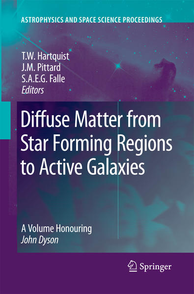 Diffuse Matter from Star Forming Regions to Active Galaxies - Coverbild
