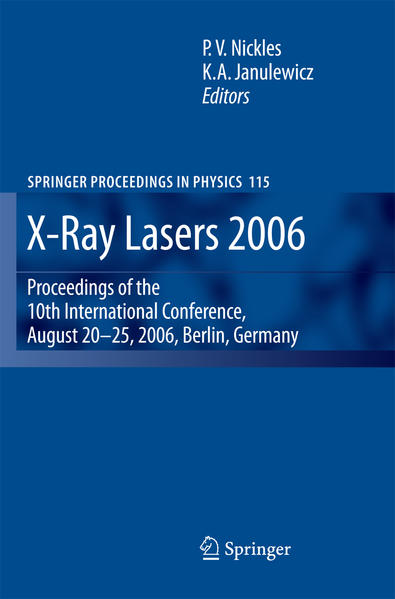 X-Ray Lasers 2006 - Coverbild