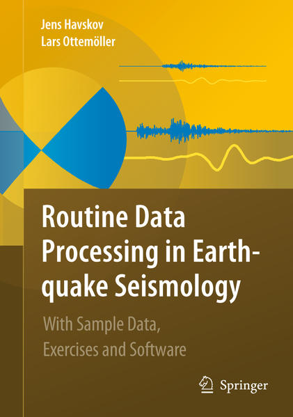 Routine Data Processing in Earthquake Seismology - Coverbild
