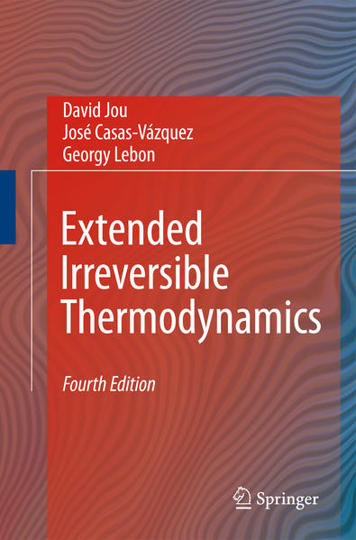 Extended Irreversible Thermodynamics - Coverbild