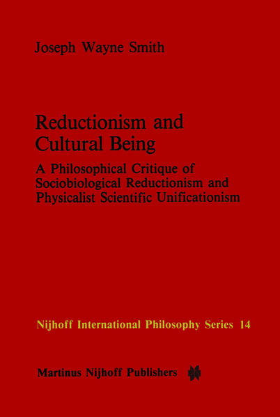 Reductionism and Cultural Being - Coverbild