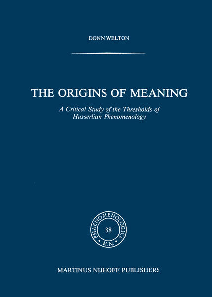 The Origins of Meaning - Coverbild