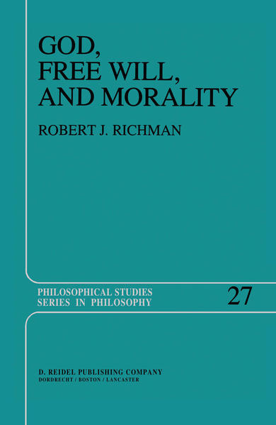 God, Free Will, and Morality - Coverbild