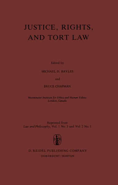 Justice, Rights, and Tort Law - Coverbild
