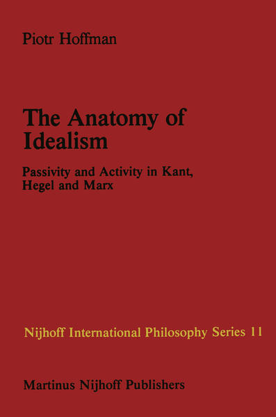 The Anatomy of Idealism - Coverbild