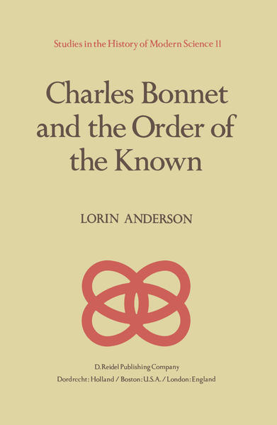Charles Bonnet and the Order of the Known - Coverbild