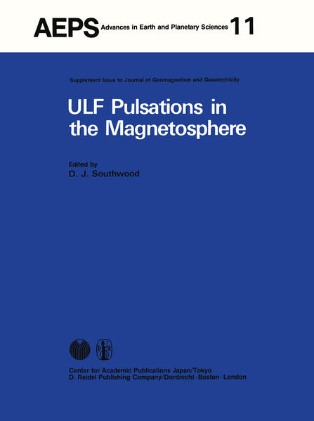 ULF Pulsations in the Magnetosphere - Coverbild