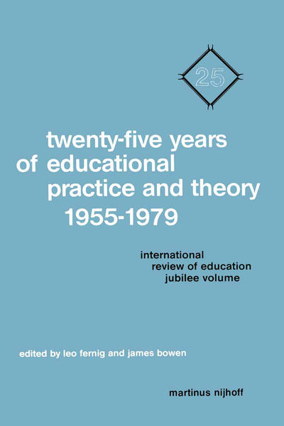 Twenty-Five Years of Educational Practice and Theory 1955–1979 - Coverbild