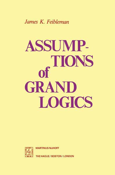 Assumptions of Grand Logics - Coverbild
