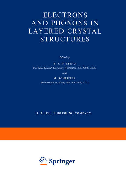 Electrons and Phonons in Layered Crystal Structures - Coverbild