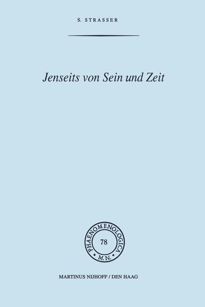 Jenseits von Sein und Zeit - Coverbild