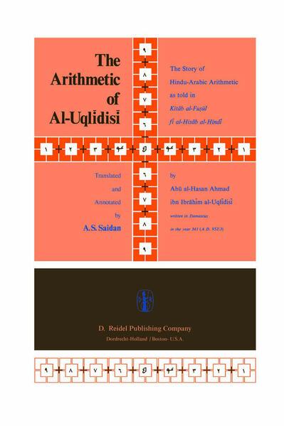 The Arithmetic of Al-Uqlidisi - Coverbild