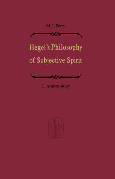 Hegel's Philosophy of Subjective Spirit / Hegels Philosophie des Subjektiven Geistes - Coverbild
