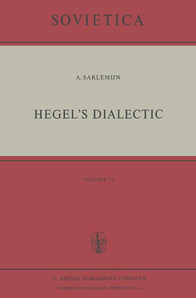 Hegel's Dialectic - Coverbild
