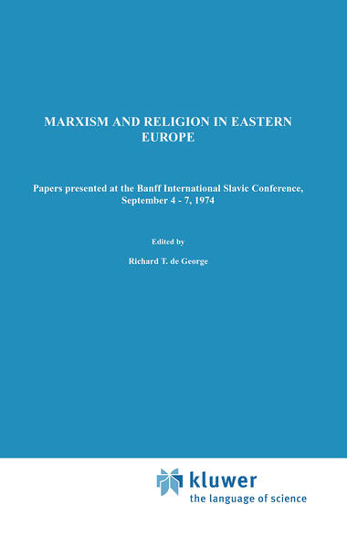 Marxism and Religion in Eastern Europe - Coverbild