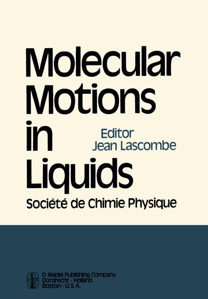 Molecular Motions in Liquids - Coverbild