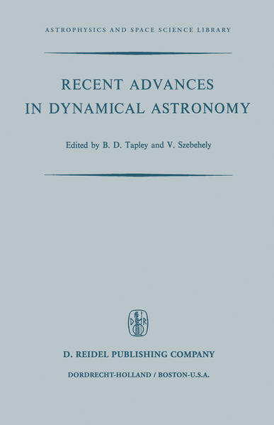 Recent Advances in Dynamical Astronomy - Coverbild