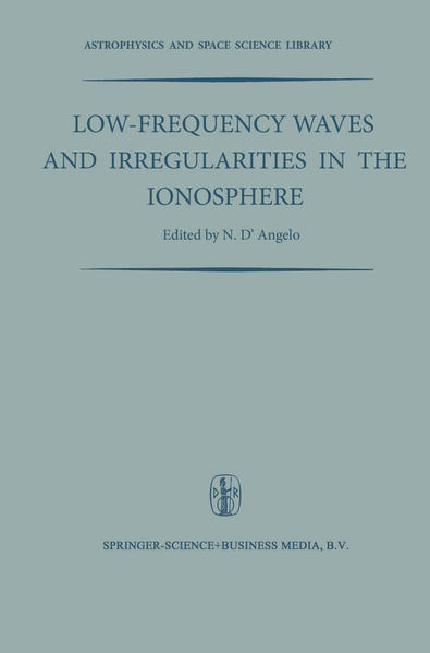 Low-Frequency Waves and Irregularities in the Ionosphere - Coverbild