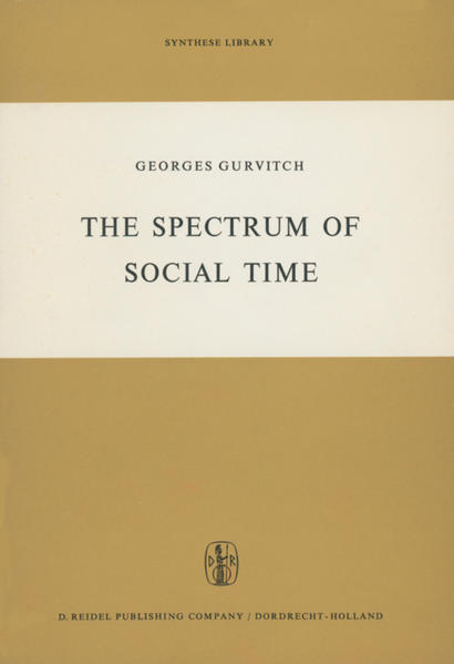 The Spectrum of Social Time - Coverbild