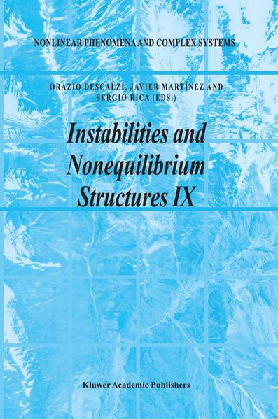 Instabilities and Nonequilibrium Structures IX - Coverbild