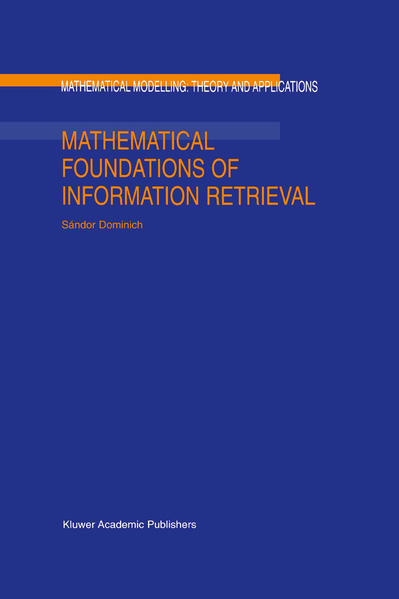 Mathematical Foundations of Information Retrieval - Coverbild