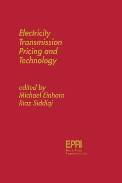 Electricity Transmission Pricing and Technology - Coverbild