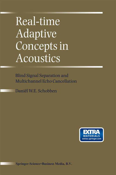 Real-Time Adaptive Concepts in Acoustics - Coverbild