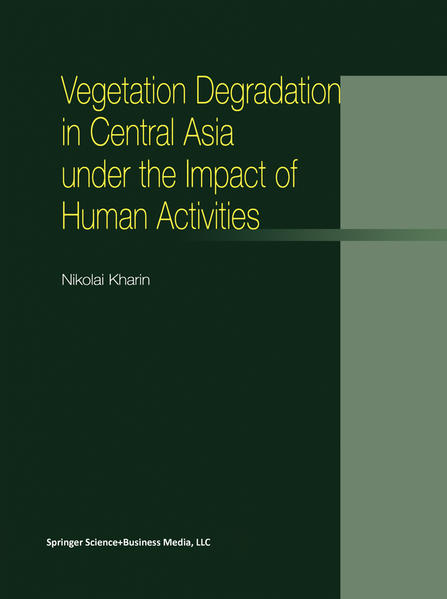Vegetation Degradation in Central Asia under the Impact of Human Activities - Coverbild