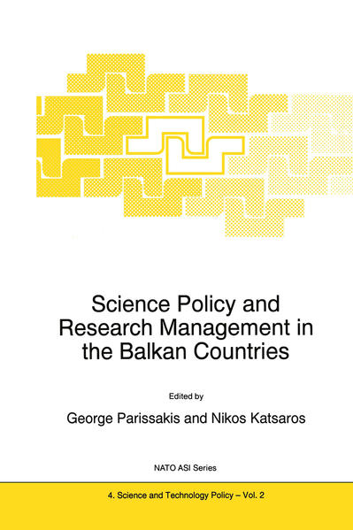 Science Policy and Research Management in the Balkan Countries - Coverbild