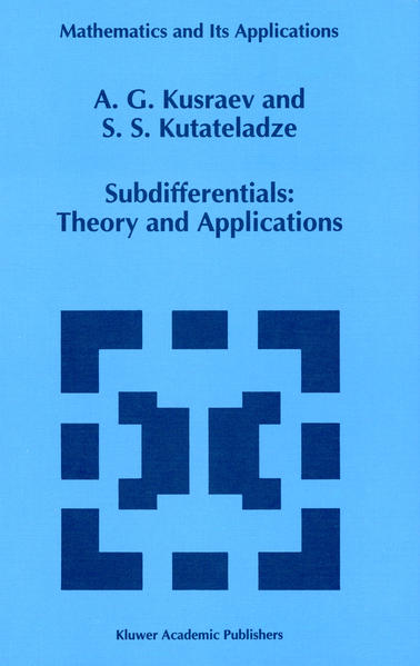 Subdifferentials - Coverbild