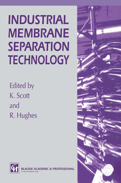 Industrial Membrane Separation Technology - Coverbild