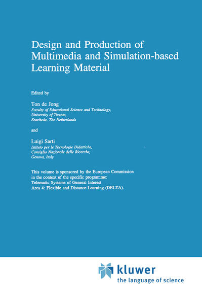 Design and Production of Multimedia and Simulation-based Learning Material - Coverbild