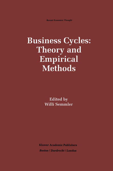 Business Cycles: Theory and Empirical Methods - Coverbild