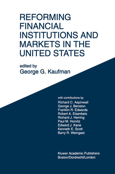 Reforming Financial Institutions and Markets in the United States - Coverbild