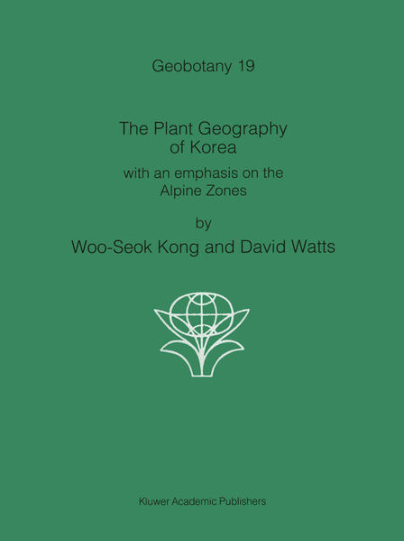 The Plant Geography of Korea - Coverbild