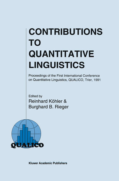 Contributions to Quantitative Linguistics - Coverbild