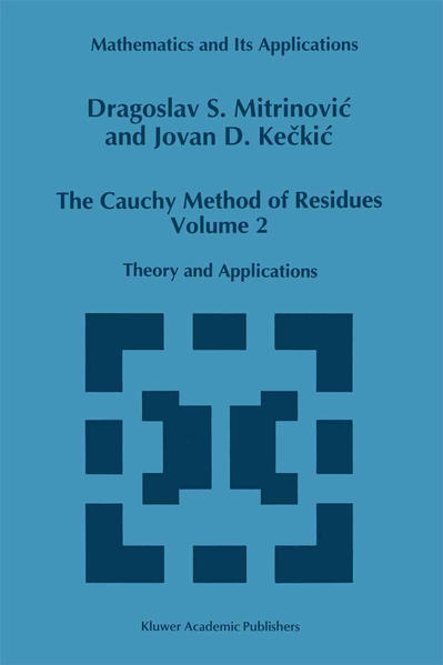The Cauchy Method of Residues - Coverbild