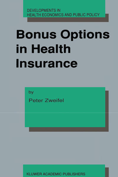Bonus Options in Health Insurance - Coverbild