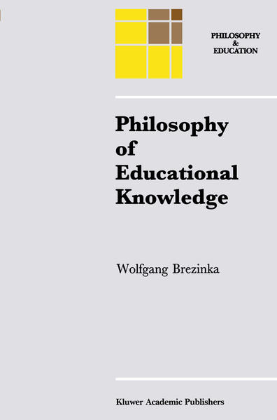Philosophy of Educational Knowledge - Coverbild