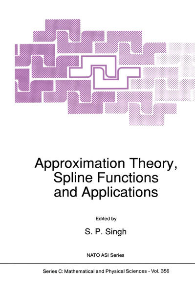 Approximation Theory, Spline Functions and Applications - Coverbild