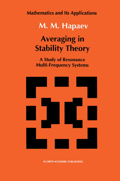 Averaging in Stability Theory - Coverbild
