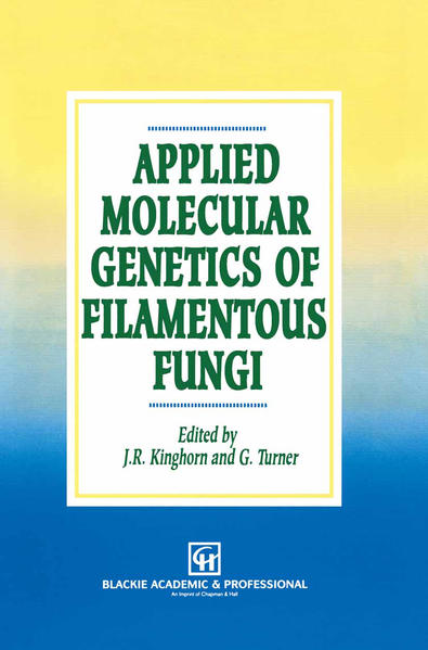 Applied Molecular Genetics of Filamentous Fungi - Coverbild