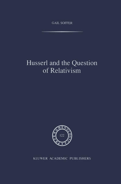 Husserl and the Question of Relativism - Coverbild