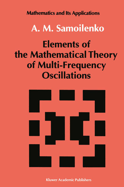 Elements of the Mathematical Theory of Multi-Frequency Oscillations - Coverbild