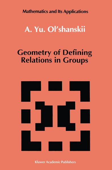 Geometry of Defining Relations in Groups - Coverbild