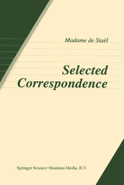 Selected Correspondence - Coverbild