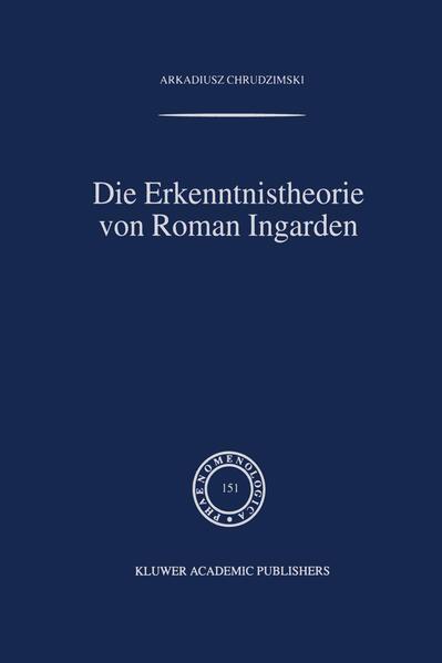 Die Erkenntnistheorie von Roman Ingarden - Coverbild