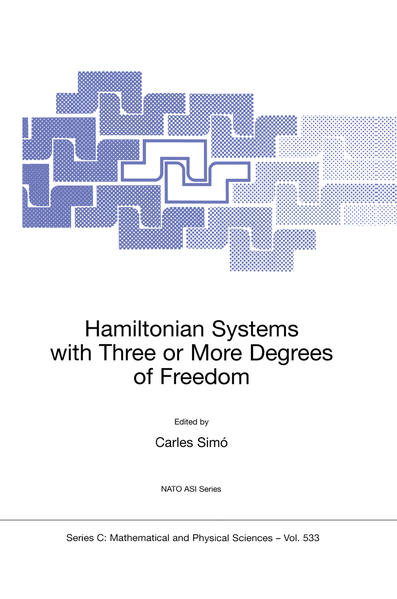 Hamiltonian Systems with Three or More Degrees of Freedom - Coverbild