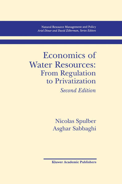 Economics of Water Resources: From Regulation to Privatization - Coverbild