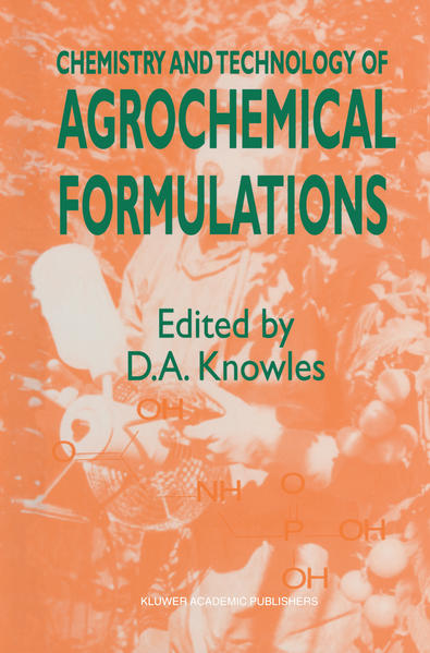 Chemistry and Technology of Agrochemical Formulations - Coverbild